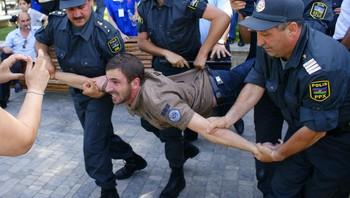 TOPSHOTS-AZERBAIJAN-OPPOSITION -