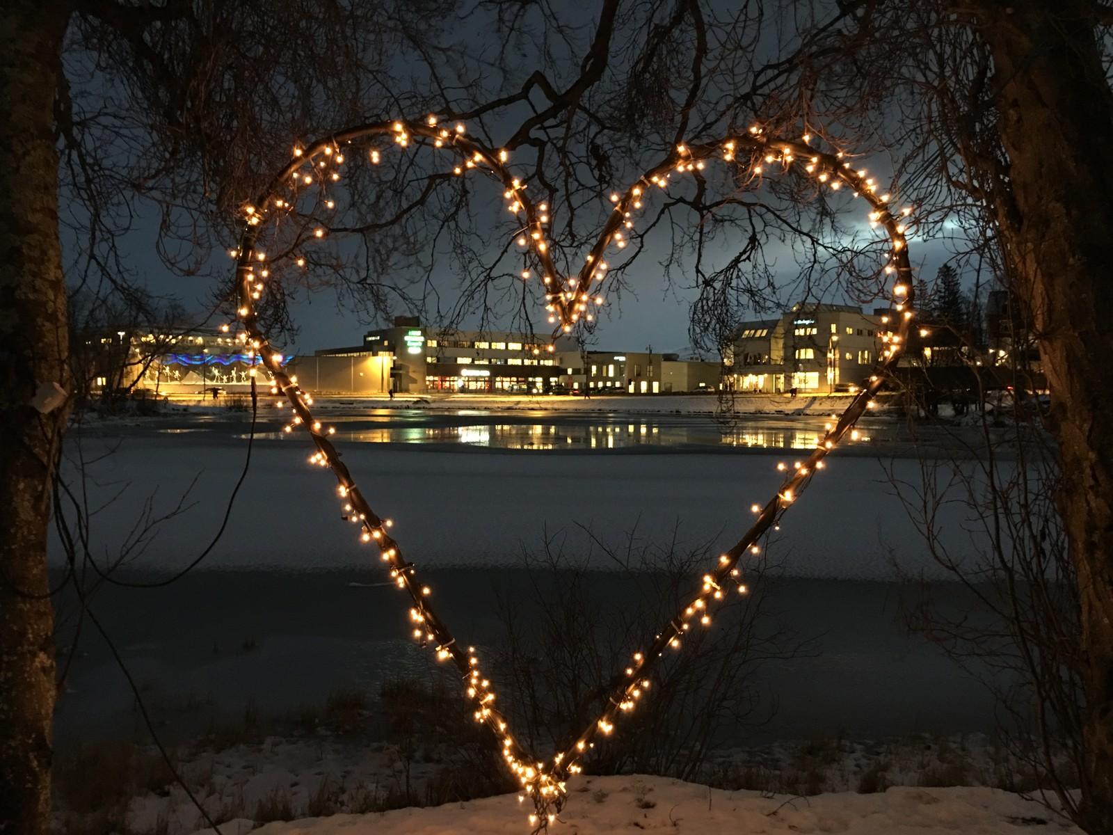 Bildet er tatt på Finnsnes.