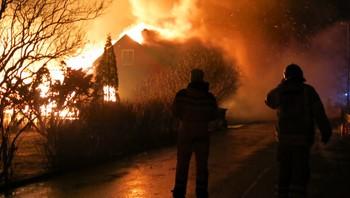 Brannen i Lærdal