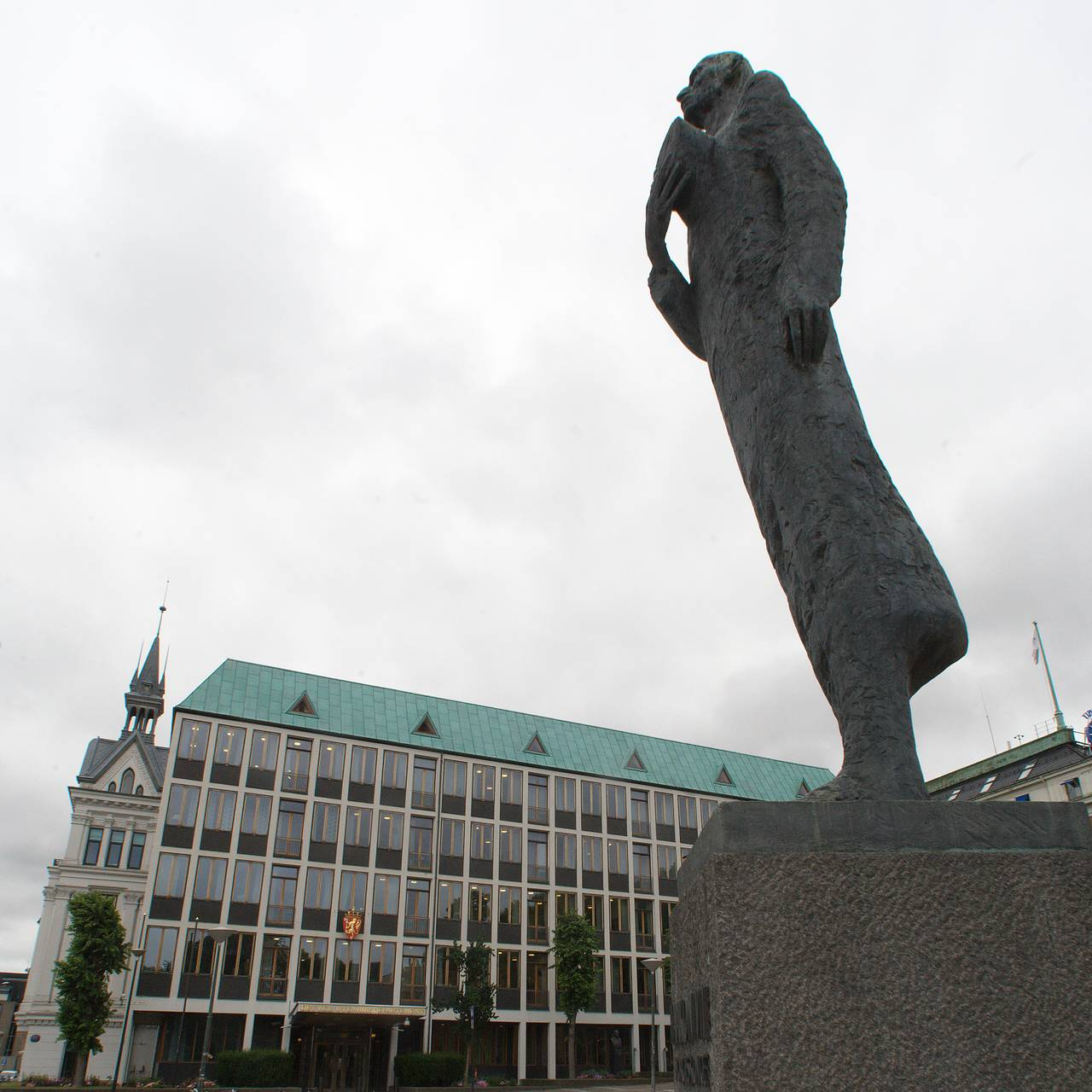 Kong Haakon VII-statue