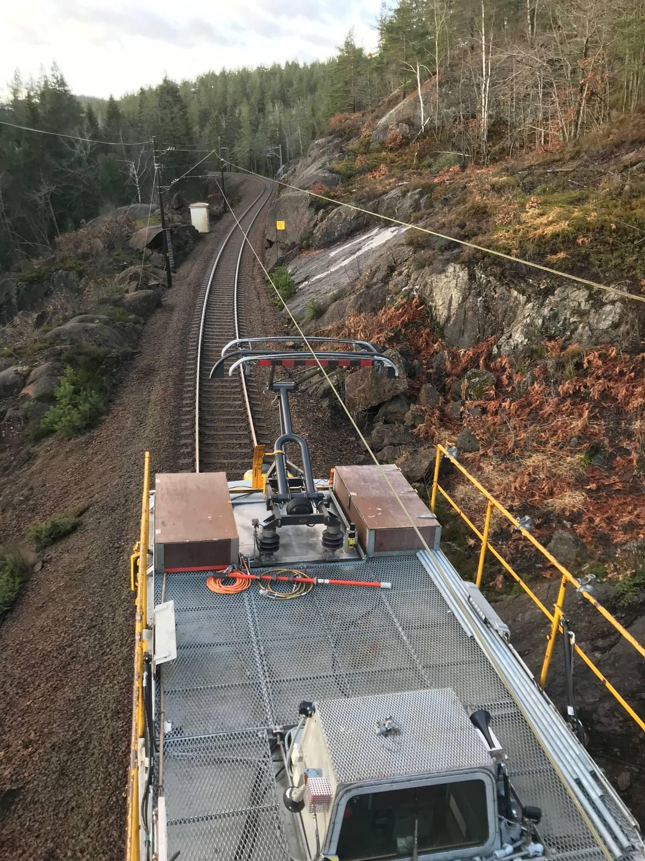 utbedring av jernbanen