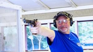 Opptak · NM-veka: Skyting med silhuettpistol, menn