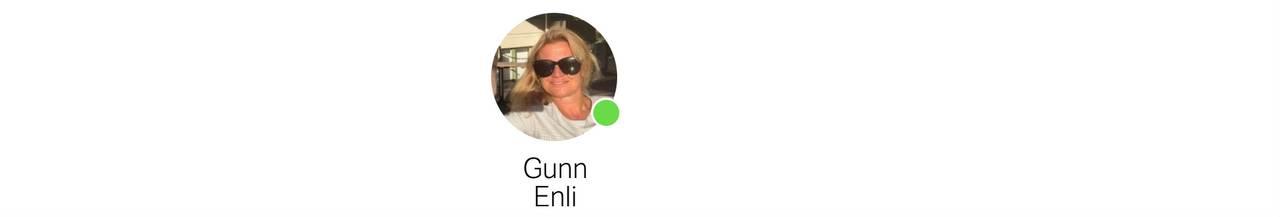 Chat-profil av Gunn Enli