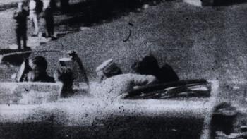 John F. Kennedy er nettopp blitt skutt
