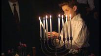 Hanukkah-lysestake