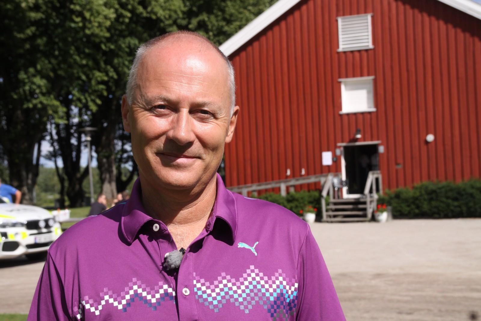 Jubileumssjef Svein Halvorsen er strålende fornøyd med feiringen så langt.
