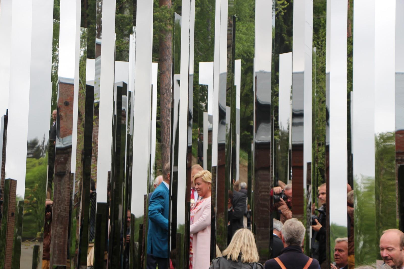 """Kunstneren ønsker å speile den norske naturen i kunstverket """"Reflection."""""""