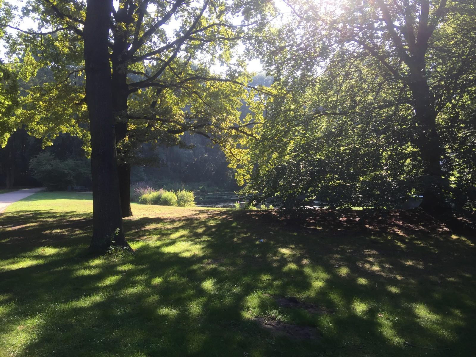 ØDELAGT. Under andre verdenskrig ble store deler av parken ødelagt under luftangrepene til de allierte.