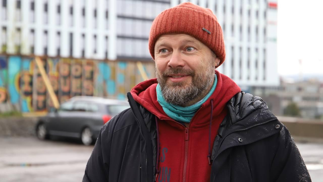 Byråd for byutvikling Rasmus Reinvang (MDG).
