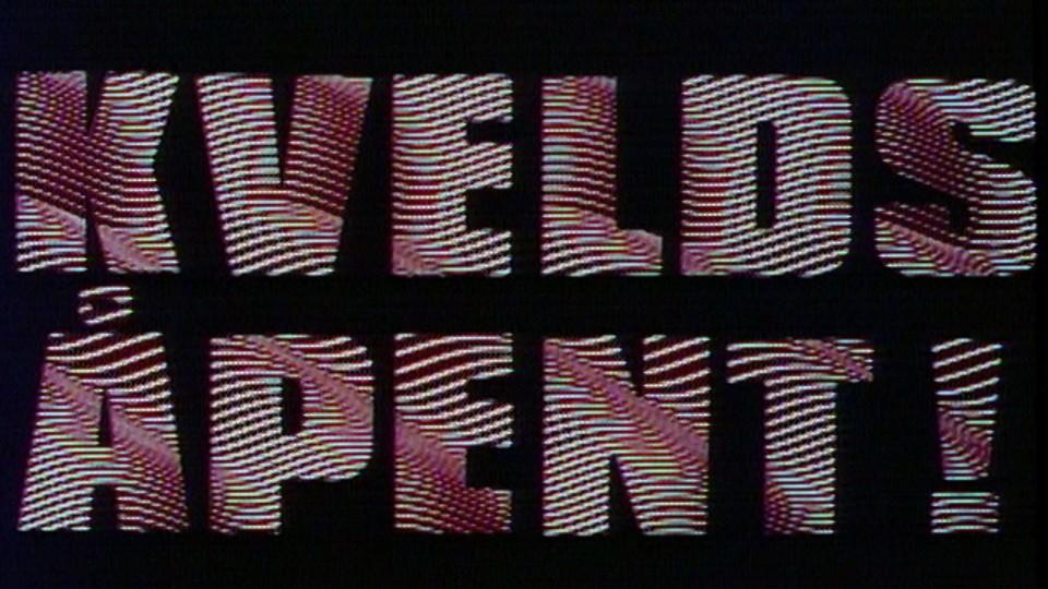 Kveldsåpent - TV