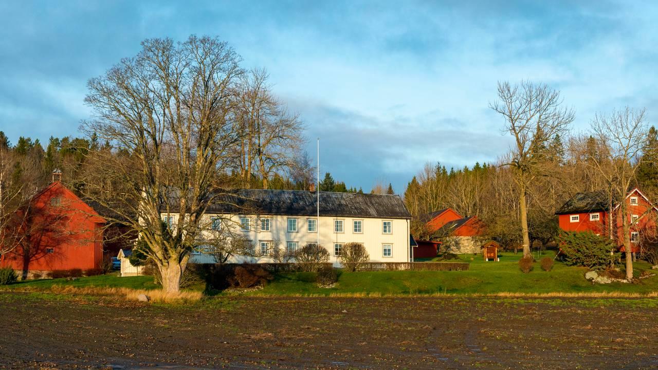 Øvre Hogstad gård i Frosta i Trøndelag