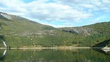 Nordbukt i Tysfjord.