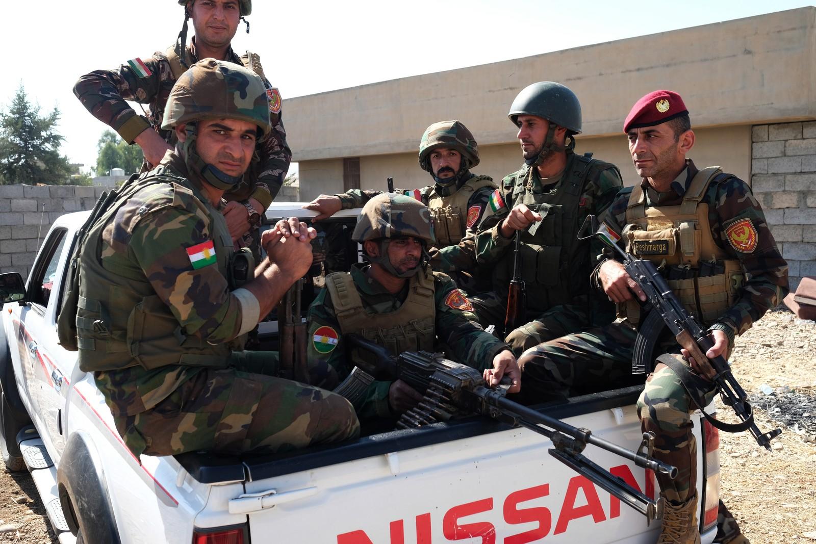De kurdiske peshmergastyrkene er i dag en regulær hær, som består av kurdere i alle aldre. De fleste kurdere har slekt eller venner som gjør tjeneste som peshmerga.