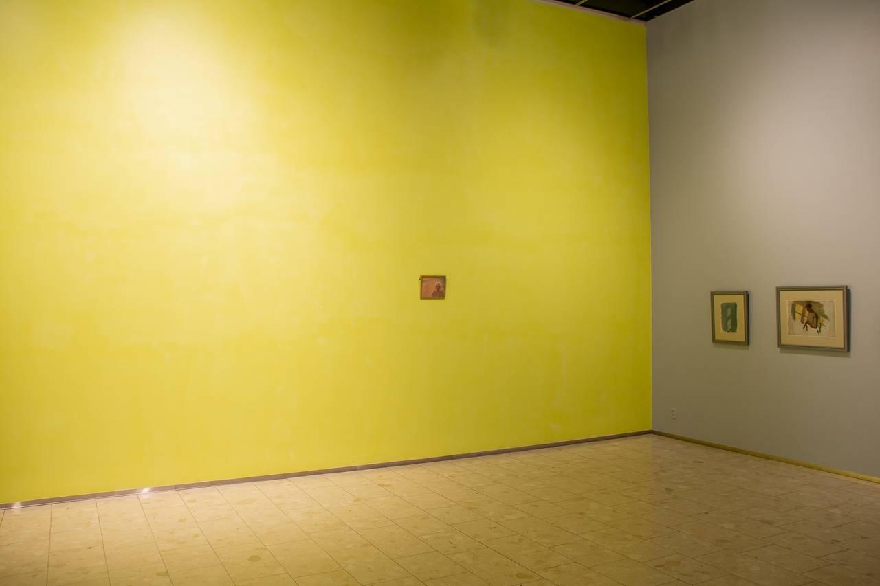 Veduta dell'installazione della galleria di Anna Ancher.