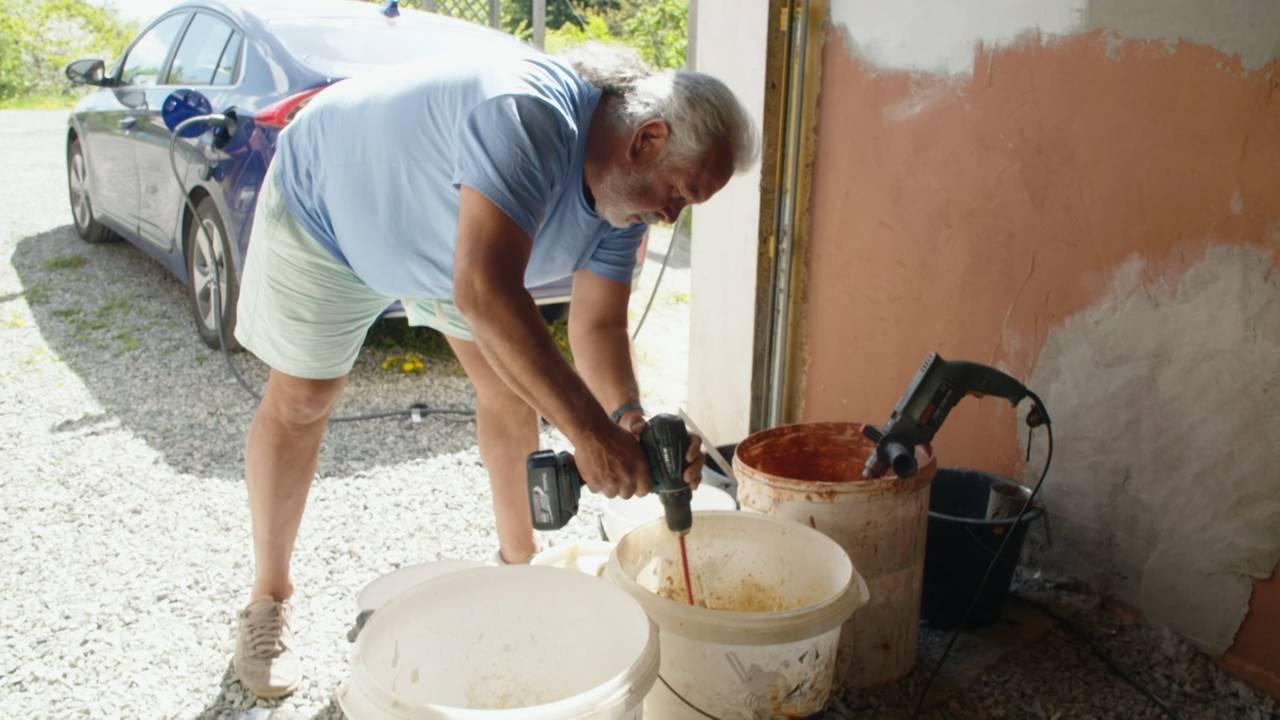 Julio Perez i Gaia Oslo lager hjemmelaga maling