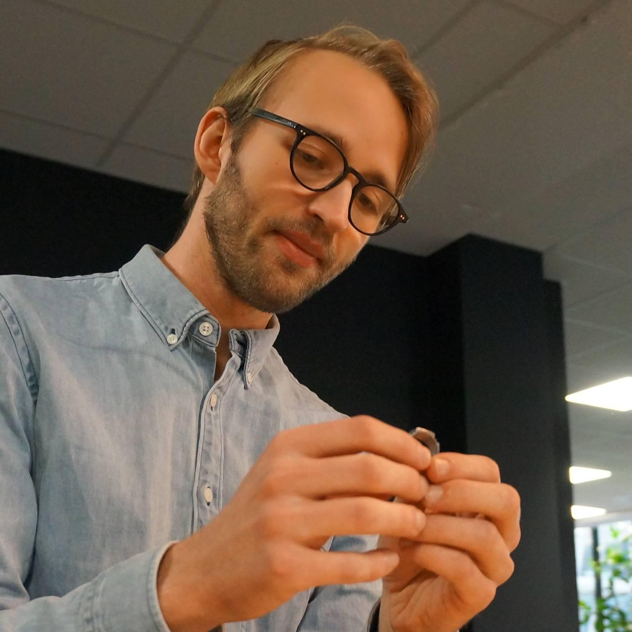Egil Hjeldes barnebarn, Frederik Hjelde Rosenvinge.