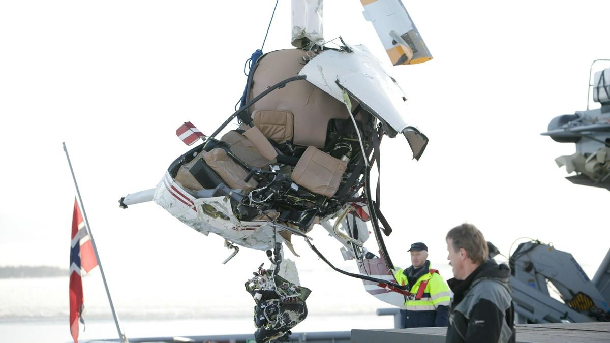 helikopterulykke horten