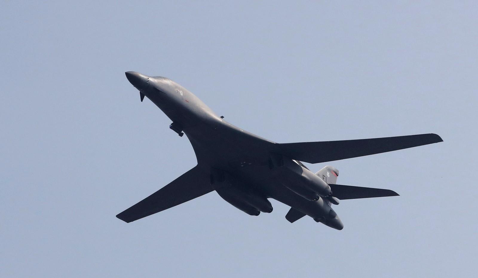 B-1-bombeflyet er USAs største, og kan ta med seg store mengder bomber.