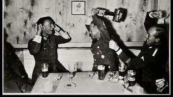 Terboven og hans nazisoldater fester i Norge