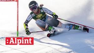 Alpint: Storslalåm 2. omgang, kvinner