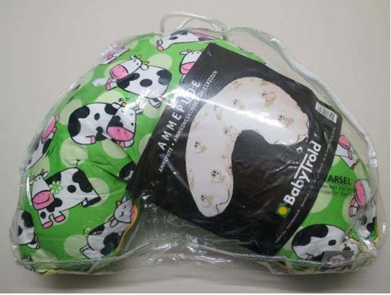I Babytrold ammepute, også fra Rudo, ble det avdekket flere farlige stoffer i emballasjen rundt produktet.