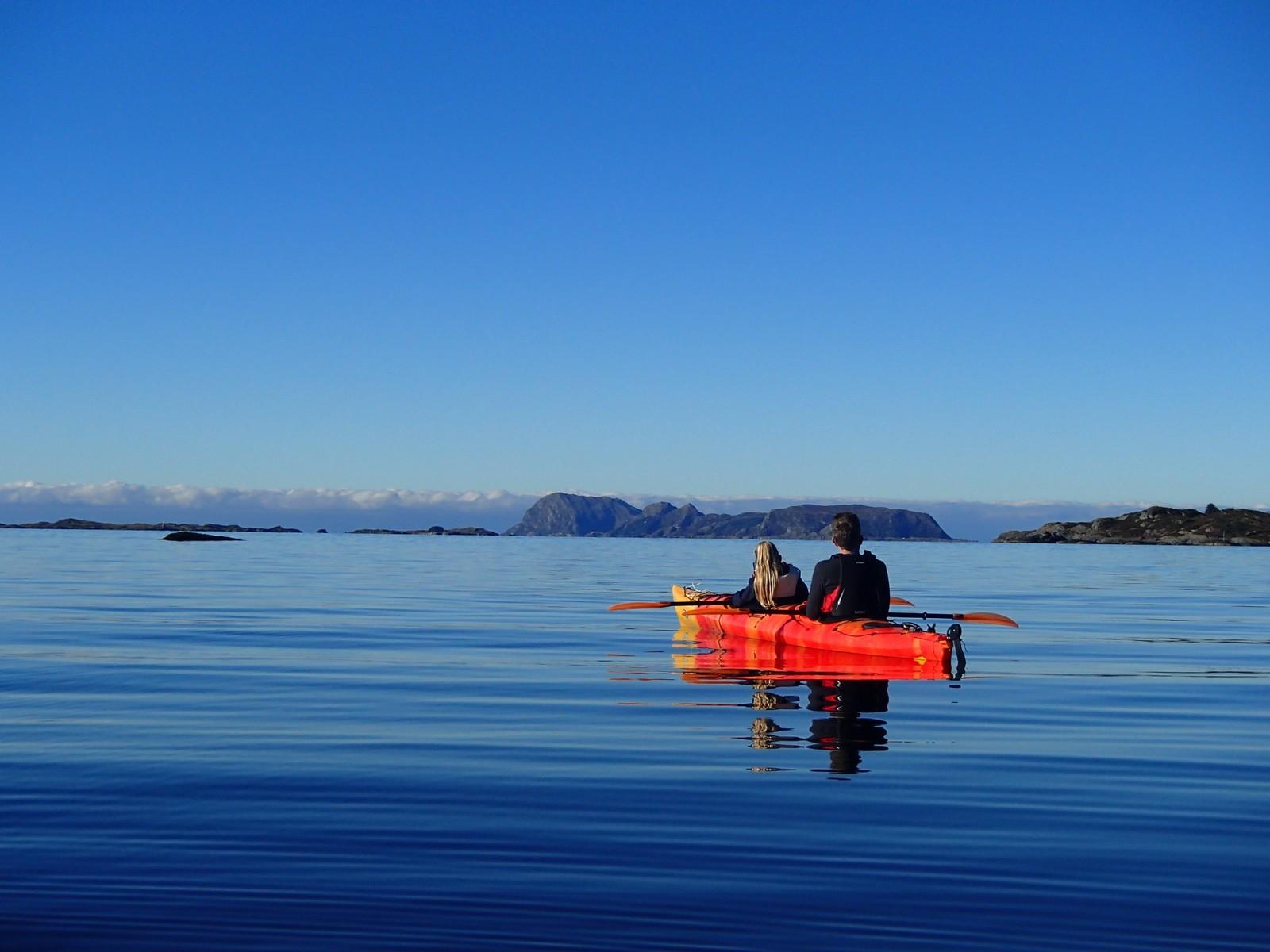 Stille ro sør for Veiesundet på Stavøya.