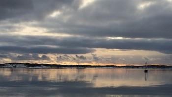 Sjøen sør for Kråkerøy