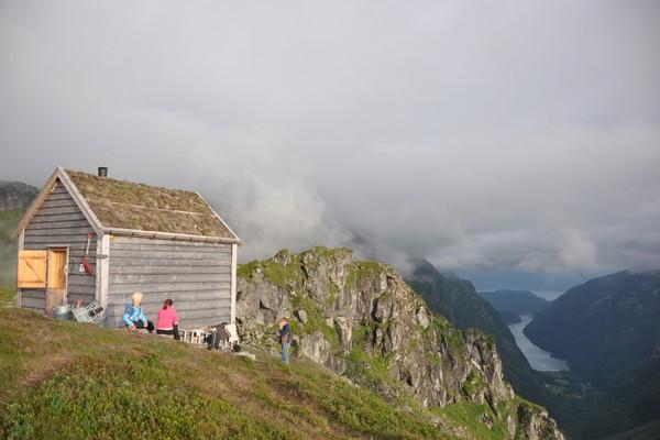 Kiellandsbu, Kvam i Hardanger.  - Foto: Nils Rune Lid