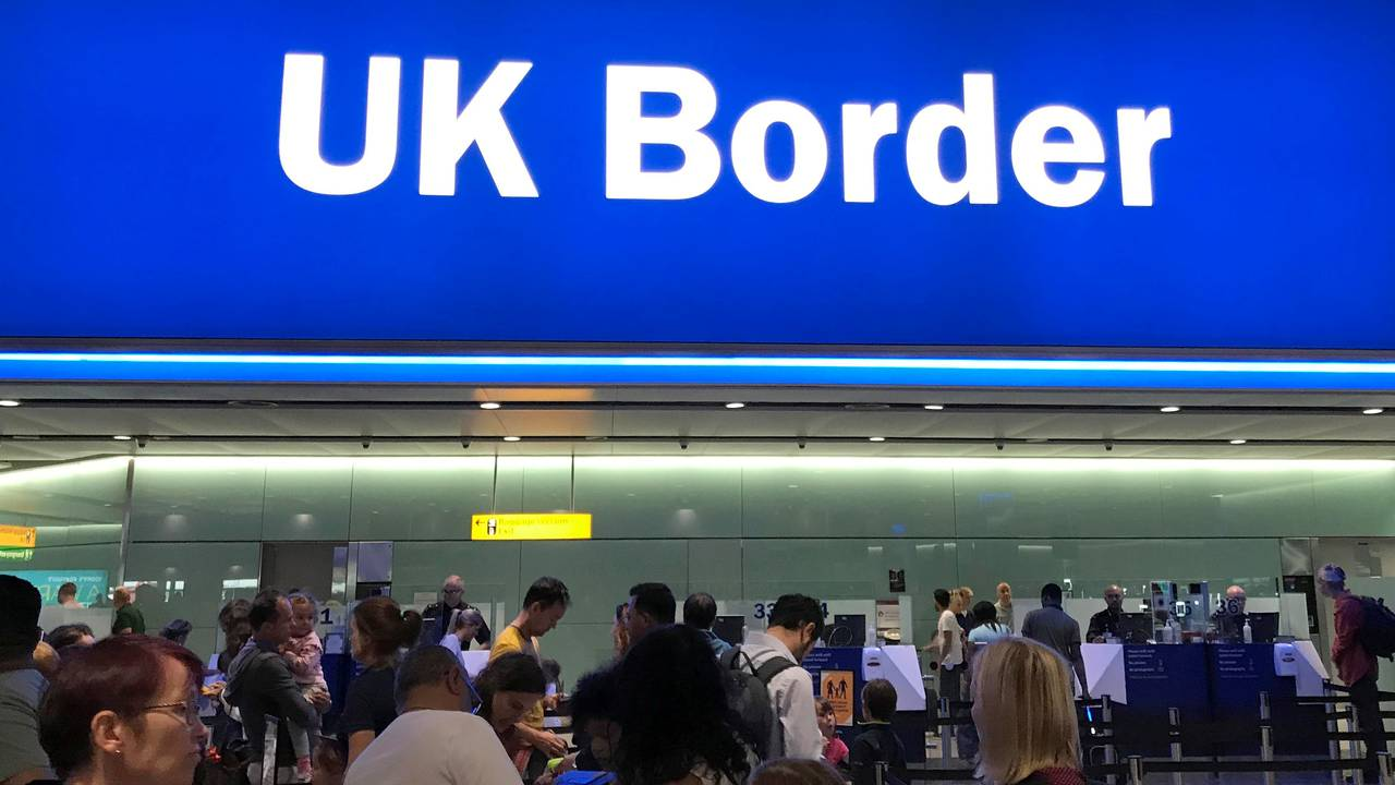 Britisk grense