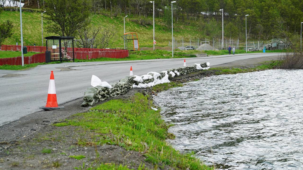 Flomsikring i Hammerfest