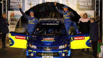Petter Solberg og Phil Mills