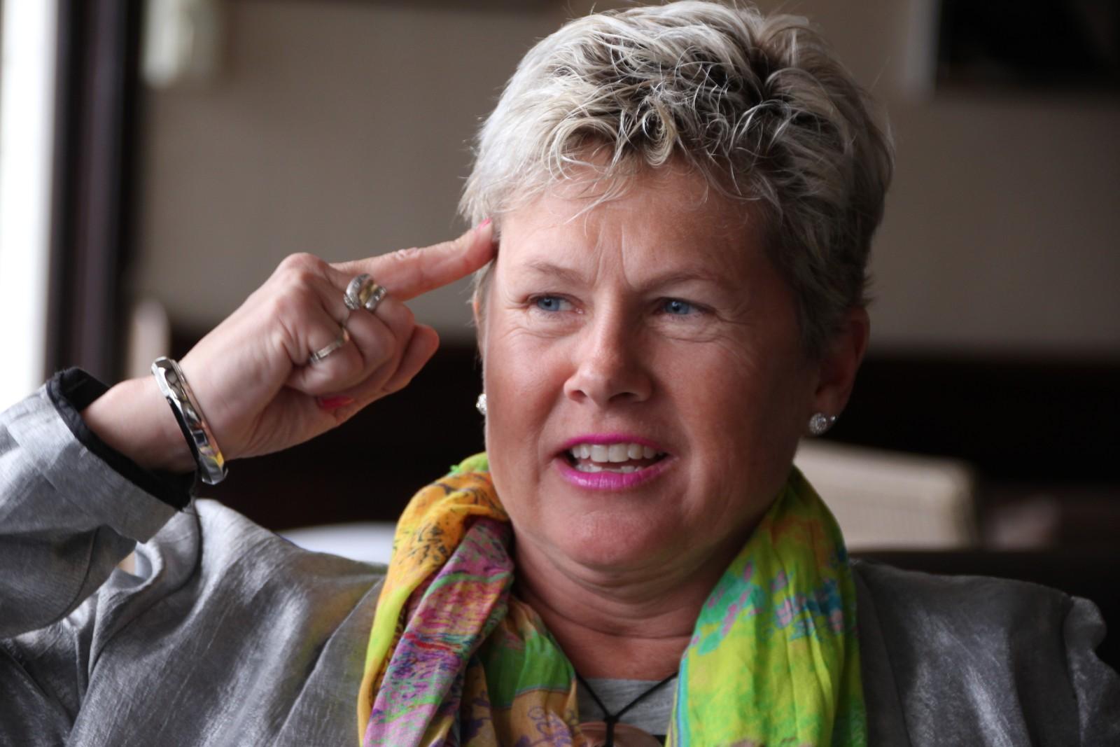 Da hun overtok det ærverdige hotellet for 14 år siden var det bare tre ansatte. I dag er det 43 årsverk ved hotellet.
