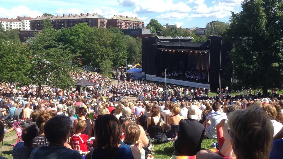 Sommerkonsert med Oslo-Filharmonien
