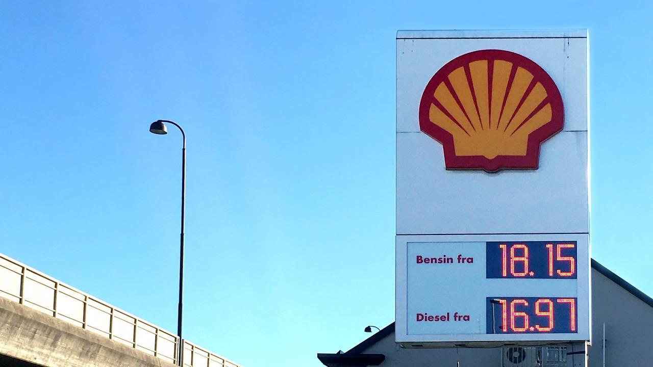 Høye bensinpriser på Sørlandet