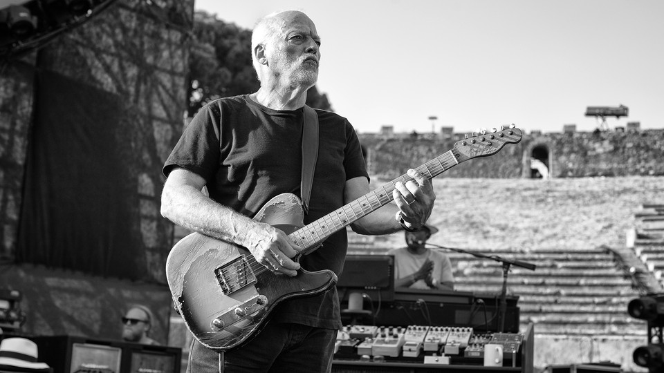 David Gilmour - live i Pompeii