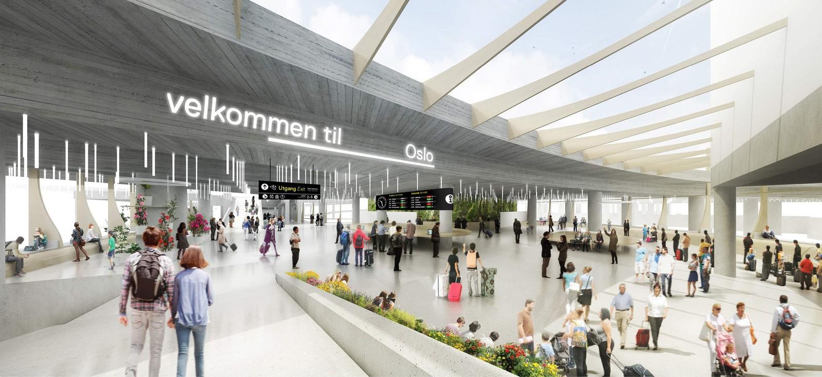 For å gi de reisende mer plass, utvides hjertet i terminalen. Den har fått navnet  «The HUB», som på norsk kan oversettes til Knutepunktet.