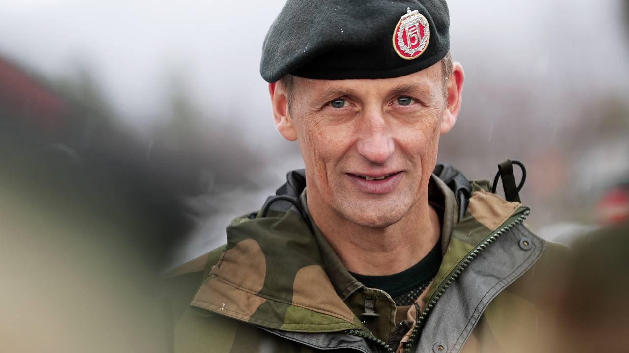 Forsvarssjef Eirik Kristoffersen