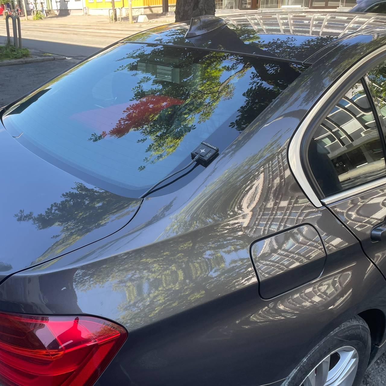 BMW med atferdsregistrator