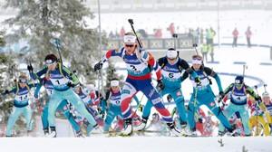 10:45 · VM skiskyting, fellesstart