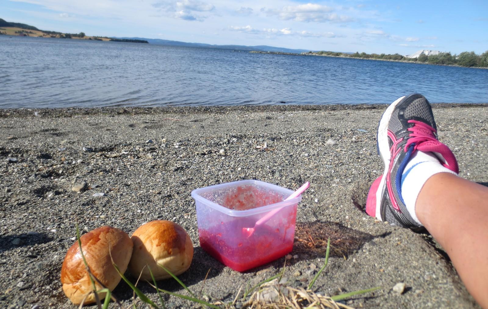 Strandliv i september på Havfrua, Verdal
