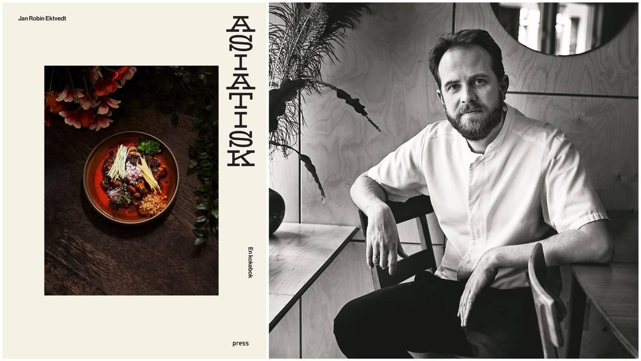 Jan Robin Ektvedt  har gitt ut kokeboka «Asiatisk».