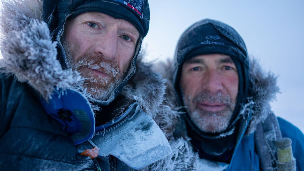 Børge Ousland og Mike Horn i Exit Nordpolen
