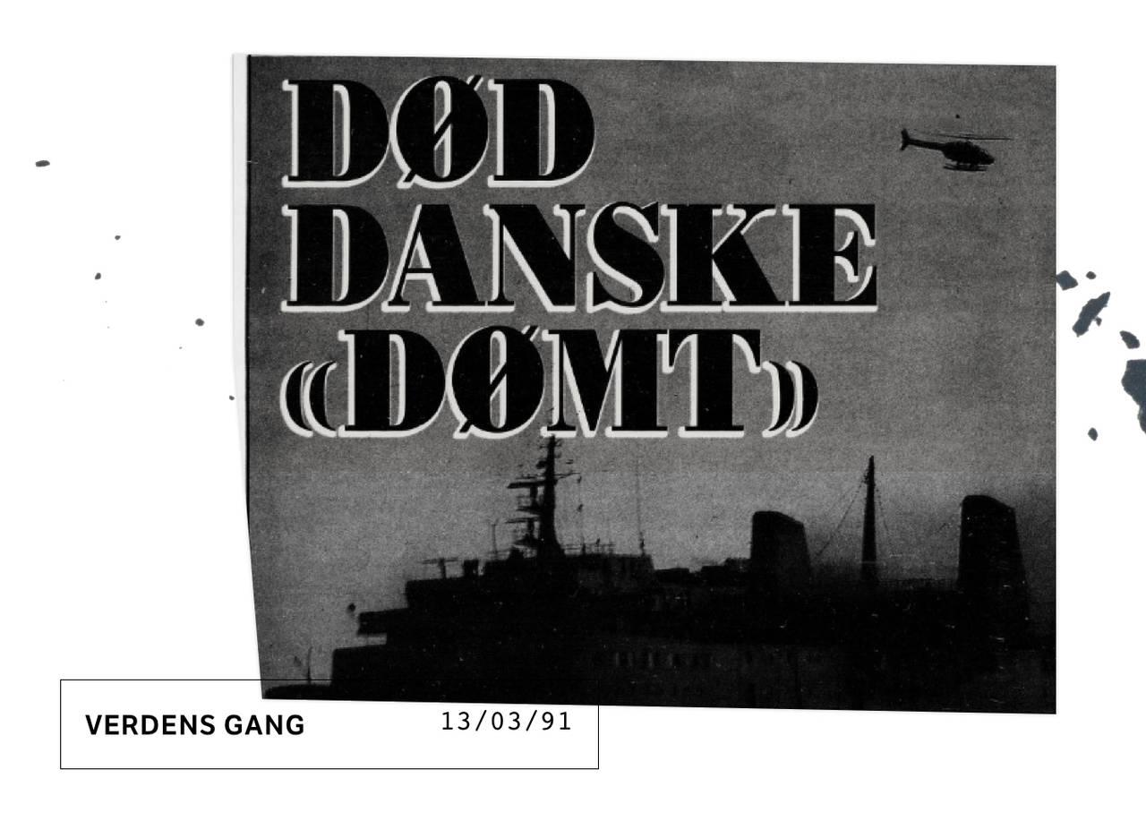 Verdens gang faksimile 13.03.91