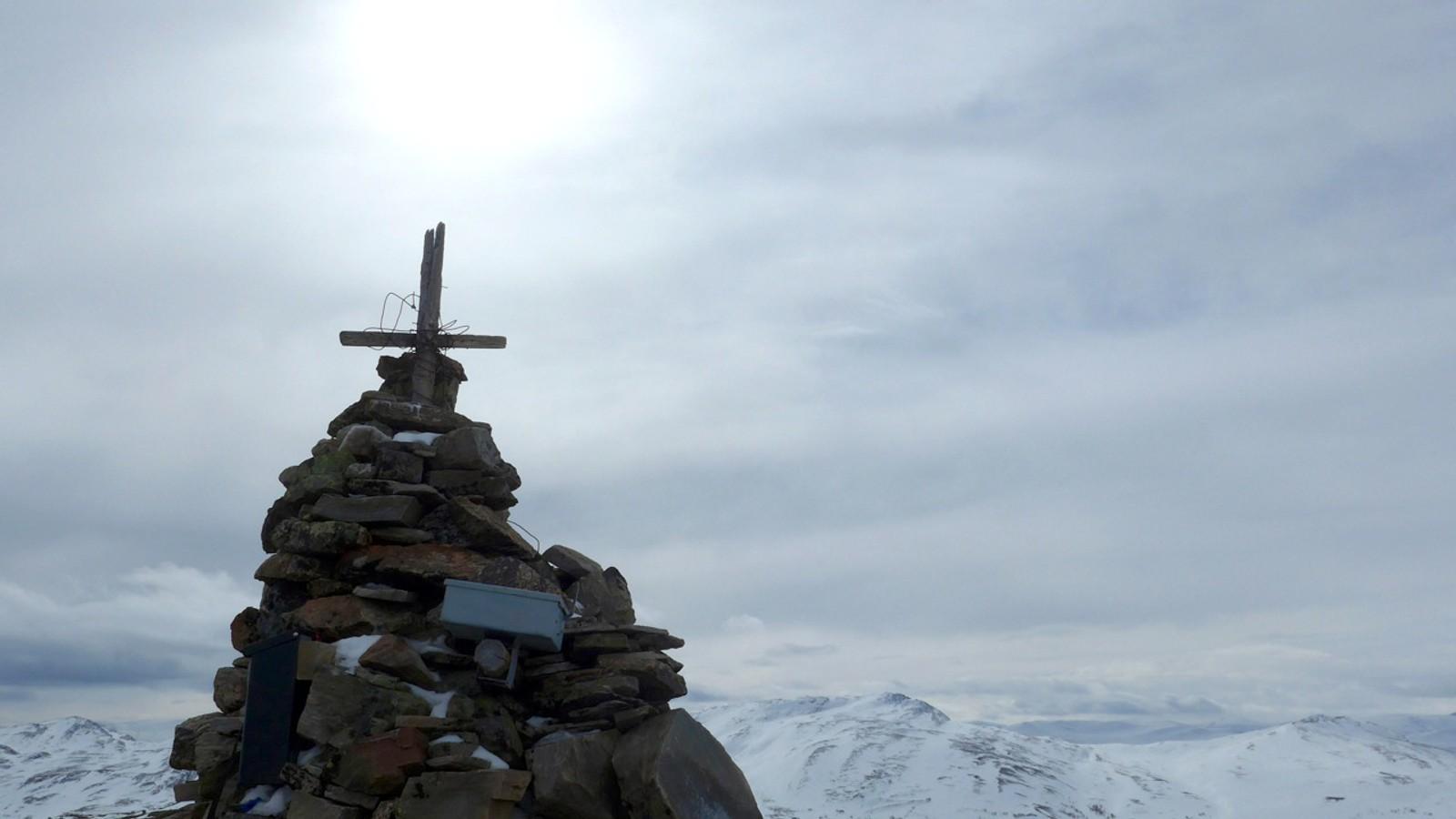 Grønhøa, 1157 moh