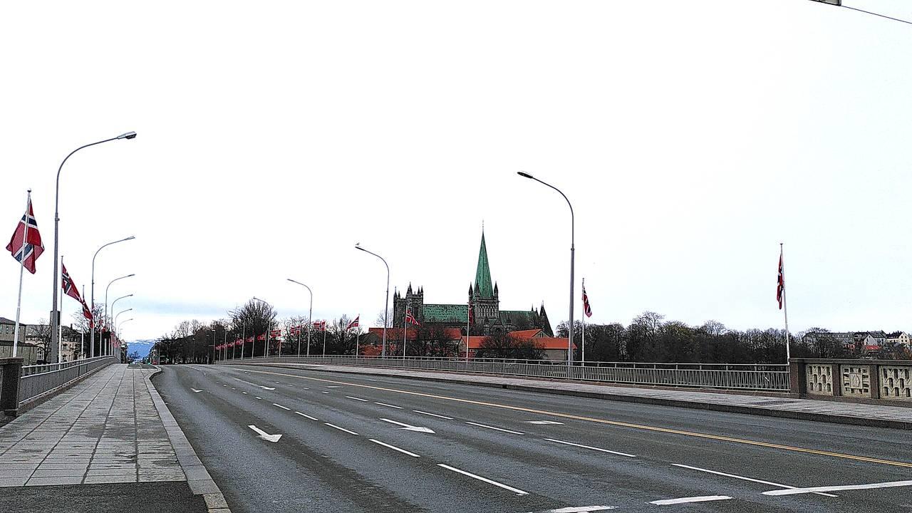 Tomme gater i Trondheim