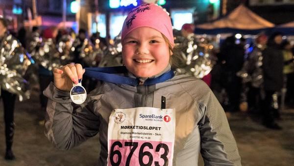 Inga-Katharina skal løpe maraton for første gang. Det er bare to måneder igjen til løpet, så hun må begynne å trene. Vil hun klare hele konkurransen?