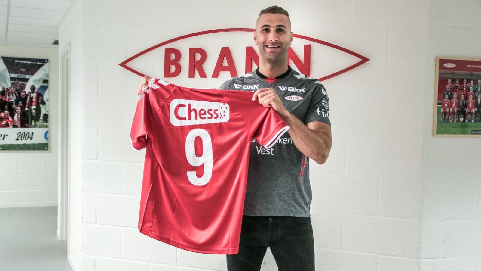 Tilbake for tredje gang: Azar Karadas signerte for Brann foran 2014-sesongen og gikk da løs på sin tredje periode i klubben.