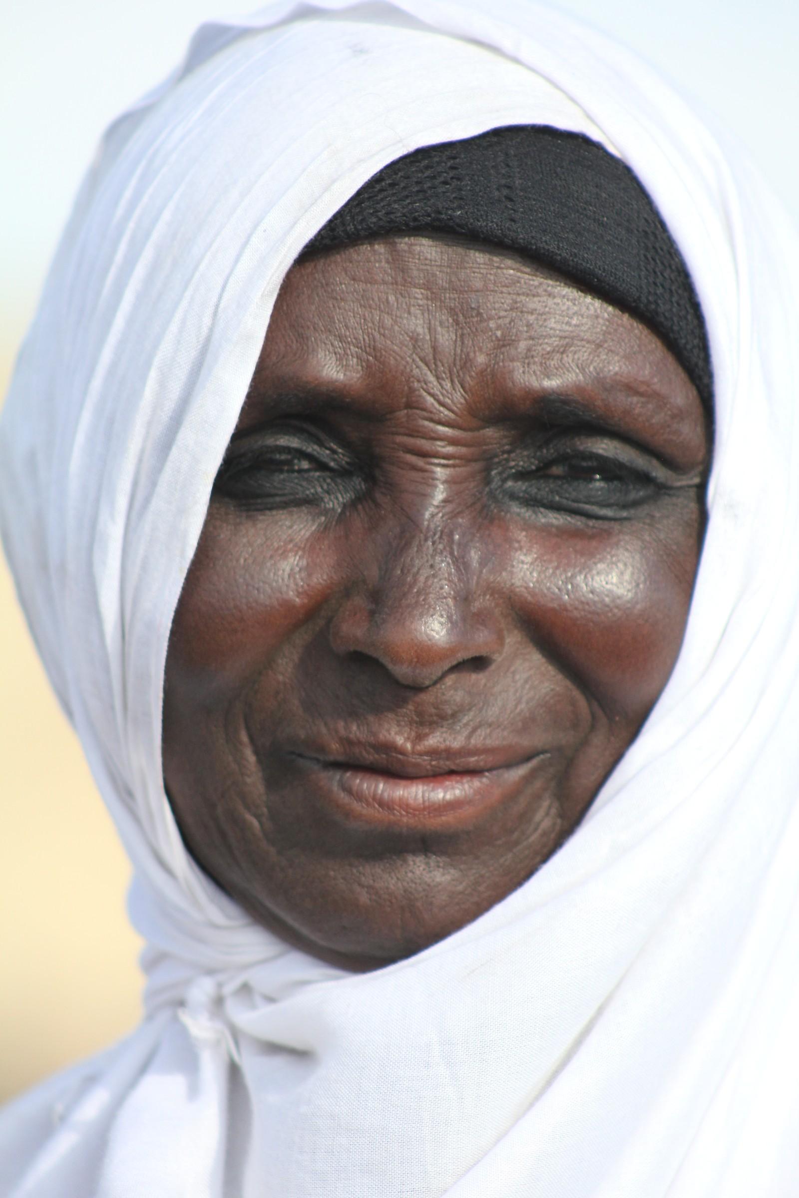 Kvinne av somalisk avstamming.