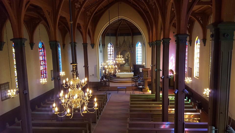 Gudstjeneste fra Kampen kirke, Oslo