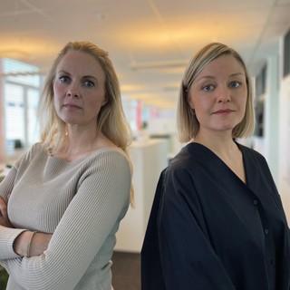 Iselin Fjeld og Tiril Mettesdatter Solvang